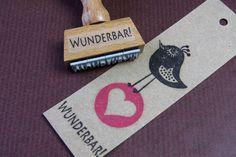Bild: Stempel - WUNDERBAR!