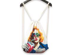 Sporttaschen - Stylischer Turnbeutel - ein Designerstück von Moon88 bei DaWanda