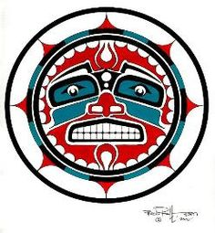 *SUN ~ Native American Art | northwest fine art | Totem Art |