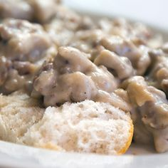 Rich, spicy sausage gravy. The kind people make in the South. It's sure to make your breakfast, brunch or dinner a better experience.