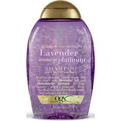 OGX Lavender Luminescent Platinum Shampoo for blond hair.
