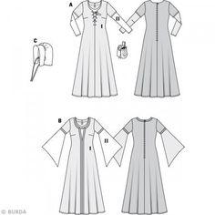 Patrons Robe Patrons Médiévale Robe Femme Patrons Robe Médiévale Femme rv5rWwRq6