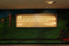 Hobbit themed baggage carousel at Wellington Airport! #airnzhobbit