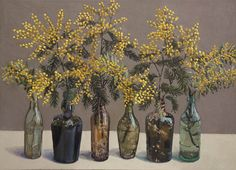 Wattle. Lucy Culliton - Bibbenluke Flowers exhibition