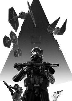 Star Wars Dark Trooper Poster / Wallpaper via Star Wars Rpg, Star Wars Ships, Star Wars Clone Wars, Star Trek, Chewbacca, Wallpaper Darth Vader, Star Wars Wallpaper, Star Wars Concept Art, Star Wars Fan Art