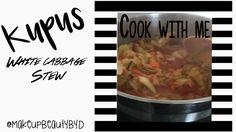 Cook with me | Sladak kupus ~ Cabbage Stew - YouTube