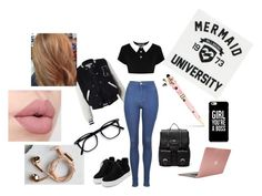 """""""°22"""" by sannyp75 ❤ liked on Polyvore featuring Sans Souci, Killstar, Incase, Billabong, Topshop, Sole Society, Happy Plugs and Betsey Johnson"""