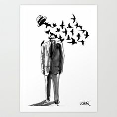 freedom Art Print by LouiJoverArt - $22.88