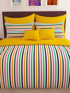 152 TC 100 Cotton Yellow 1 Double Bedsheet With 2 Pillow Cover 152 TC 100 Cotton Yellow 1 Double Bedsheet With 2 Pillow Cover, Brand Name : Story @ Home, Length (cm) : Pillow Width (cm) : Thread count : Print Yellow Bed Sheets, Yellow Bedding, Bedding Sets, Neutral Bedding, Grey Bedding, Draps Design, Bed Covers, Pillow Covers, Bed Sheet Sizes