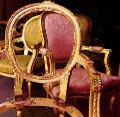 Furniture, Art, Home Decor, Glass Display Case, Restoration, Chair, Atelier, Art Background, Decoration Home