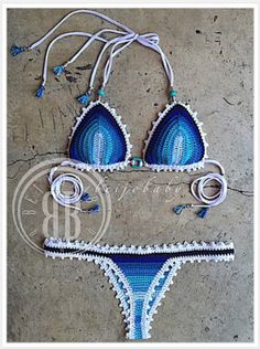 Maresia bikini custom crochet bikini by beijobaby on Etsy