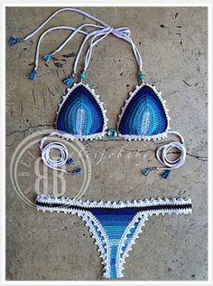 Maresia bikini bikini de ganchillo personalizados por beijobaby