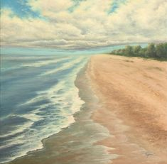 Great beach painting