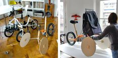 Kiffy I Triporteur modulable - Identity by design.