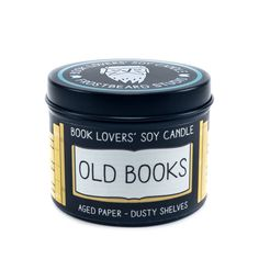 This soy candle that smells like old books is a unique Christmas gift idea from Etsy and is the perfect gift idea for bookworms.