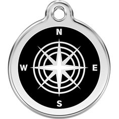 Red Dingo Personalized Compass Pet ID Dog Tag (Large) ** Want to know more, click on the image. (This is an affiliate link) #DogIDTags