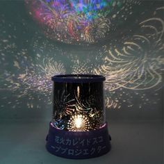 Purple Fantastic Star Beauty Light LED Bedroom Projector Night Lamp