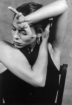 flamenco// fantastic facial expression, very much in contrast to ballet