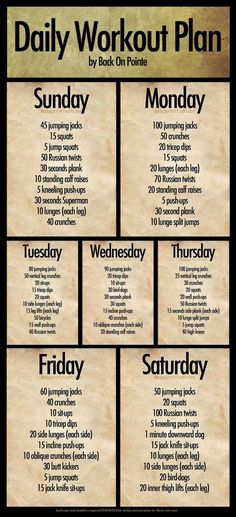 Pin for Later: Printable Workouts We Love