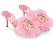 98d297ff8eb5 Louis Vuitton marabou slippers  make your princess dreams come true! Dress  Up Shoes