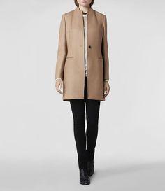 AllSaints Hendrick Coat | Womens Coats