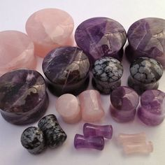 infinitebody:    New stone plugs from Diablo Organics.