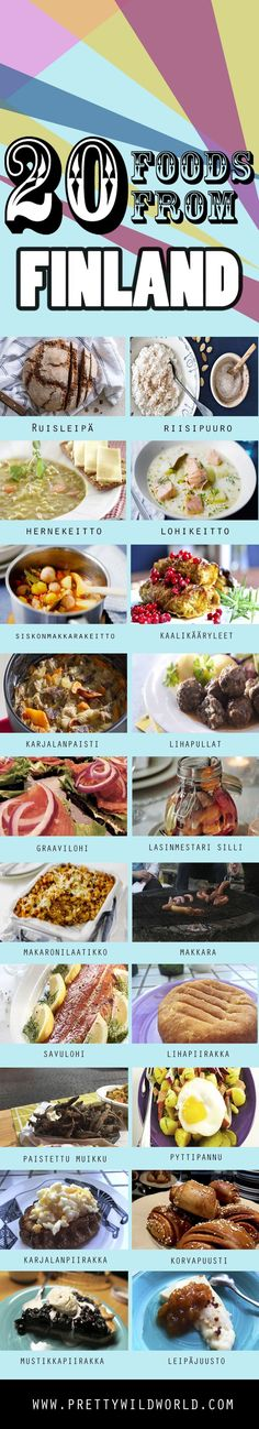 Check out this list of 20 TRADITIONAL FOOD OF FINLAND and let me know which one you'd love to try if you visit this beautiful country – or pin this to read later!