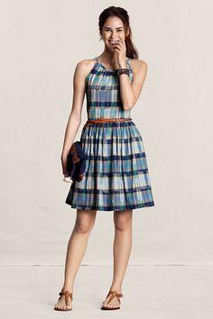 Madras Dress