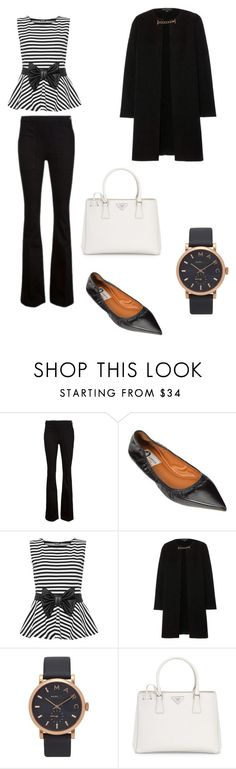 """""""Flares"""" by juliffthegirl ❤ liked on Polyvore featuring Frame Denim, Lanvin, WearAll, Burberry, Marc Jacobs, Prada, trending, marcjacobs and flares"""