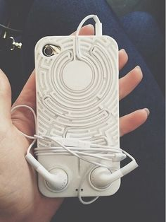 Cool #Smartphone case that stops headphones getting tangled
