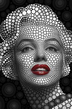 Marilyn Monroe artwork.