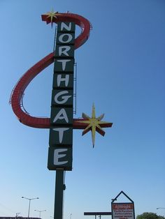 Northgate Sign - Aurora, IL_IMG_6540 by Wampa-One, via Flickr by kasey