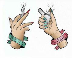 Tag your best bitch! #missmaryjane #MMJco @medusenoire