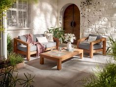 Gartenmöbel Set Toluca