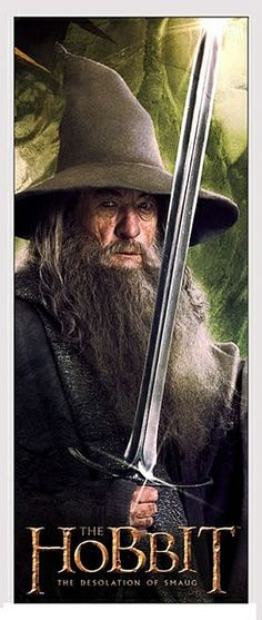 Gandalf is pretty old.  Old enough to have that beard.
