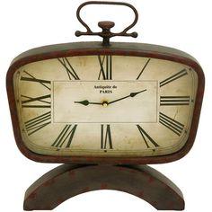 Antiquite Table Clock
