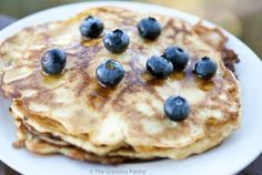 Clean Eating Gluten Free Coconut Pancakes