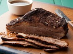 A summer barbecue wouldn't be complete without the Oven-Roasted Beef Brisket centerpiece. This brisket is rubbed with deep spices and braised in the oven for several hours.