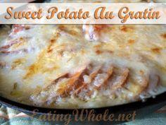 Vegan Sweet Potato Au Gratin