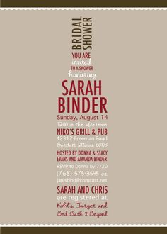 Wine Bridal Shower Invitation  Wine Lovers by PinchOfSpice on Etsy, $15.00