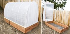 groovy DIY Greenhouse Raised Garden Bed for your backyard…supplies and photos included Potager Palettes, Style Baby, Cheap Sheds, Wooden Sheds, Greenhouse Gardening, Greenhouse Plans, Outdoor Sheds, Building A Shed, Shed Plans