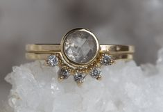 The Perfect Modern Ring With a Vintage Vibe :: Alexis Russell
