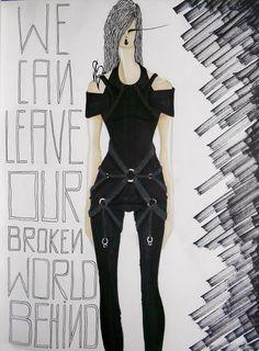 #fashion #moda #fashiondesign #black #harness #design #fashiondesigner #designer #style #look  #art