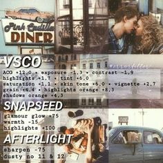 VSCO ACG vintage dusty theme aesthetic (snapseeed and afterlight alternative) / ✰✰