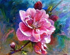 Sakura oil on canvas
