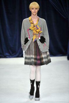 Eley Kishimoto Fall 2008 Ready-to-Wear Fashion Show - Edythe Hughes