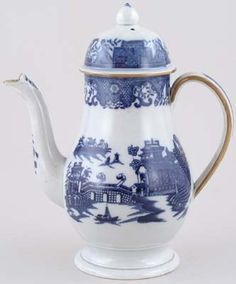 Unattributed Maker Long Bridge Coffee Pot c1800 - Buy online from the specialists