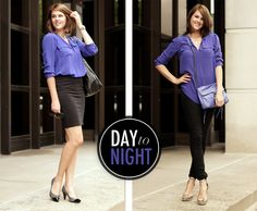 Bonus Post! My favorite silk blouse from corporate to casual.