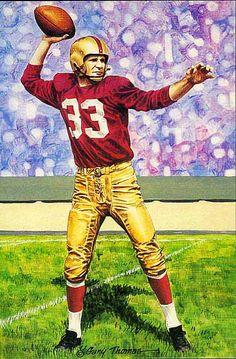 Redskins #33 Sammy Baugh