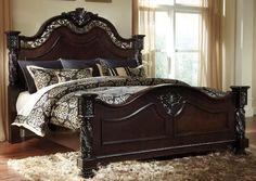 Bedroom Bed, Bedroom Furniture, Master Bedroom, Bedroom Ideas, Bedrooms, Bedroom Suites, Wooden Furniture, Modern Bedroom, Luxury Furniture